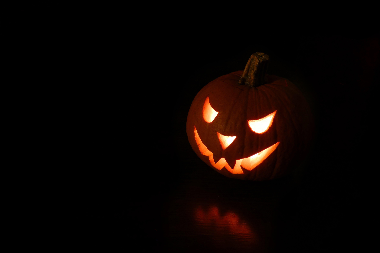 Close-Up Photo Of Jack-o'-lantern