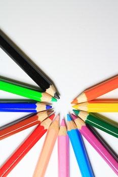 Multicolor Colored Pencils