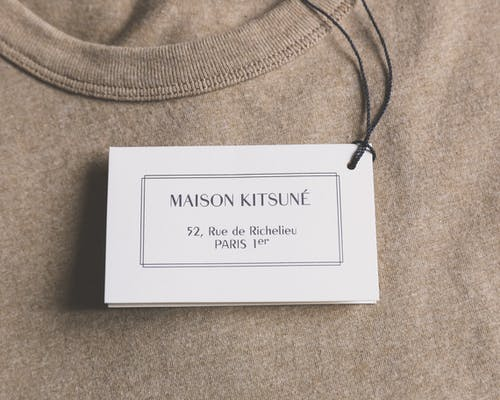 Free stock photo of detail, fashion, Maison Kistuné