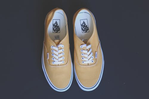 Photo of Pair of Vans Sneakers