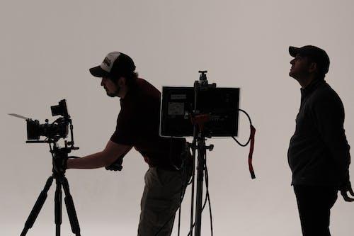 Free stock photo of Film Crew on Set in Studio