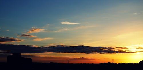คลังภาพถ่ายฟรี ของ ตะวันลับฟ้า, ท้องฟ้า, พระอาทิตย์ขึ้น, พระอาทิตย์ตก