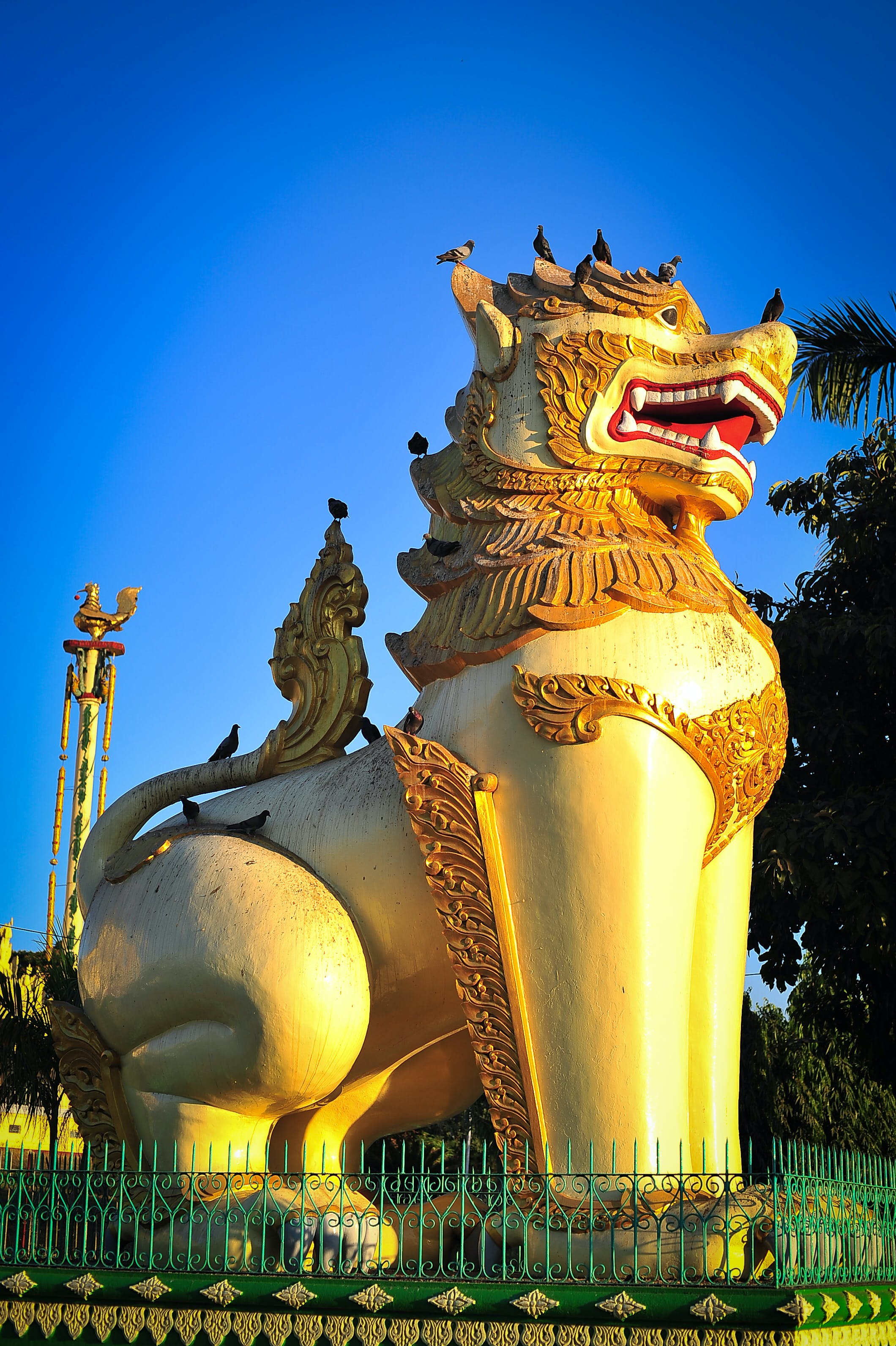 Free stock photo of asia, golden, myanmar, statue