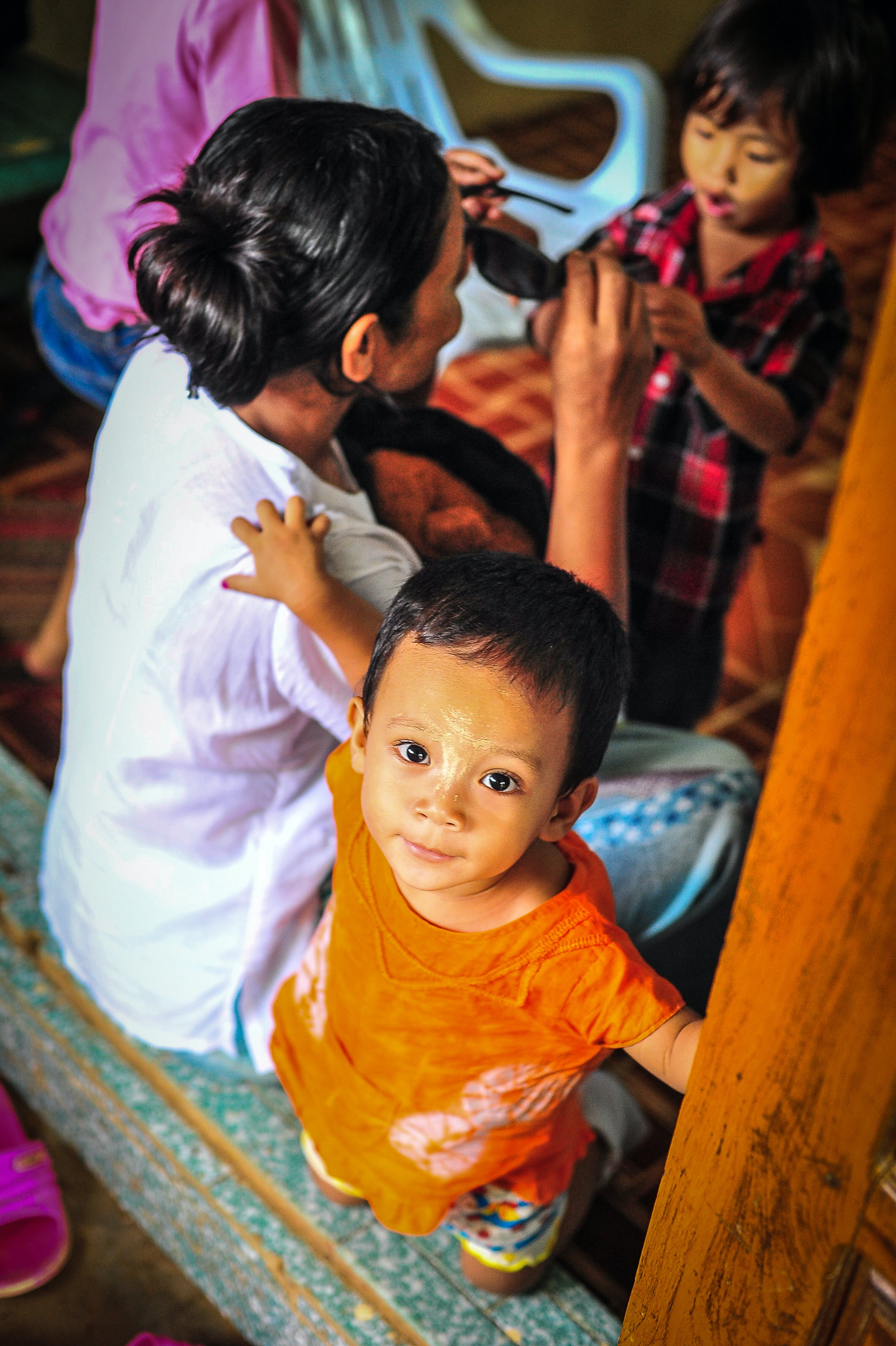 Free stock photo of asia, child, girl, joy