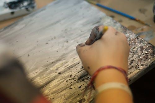 Fotos de stock gratuitas de acción, adentro, Arte, artista