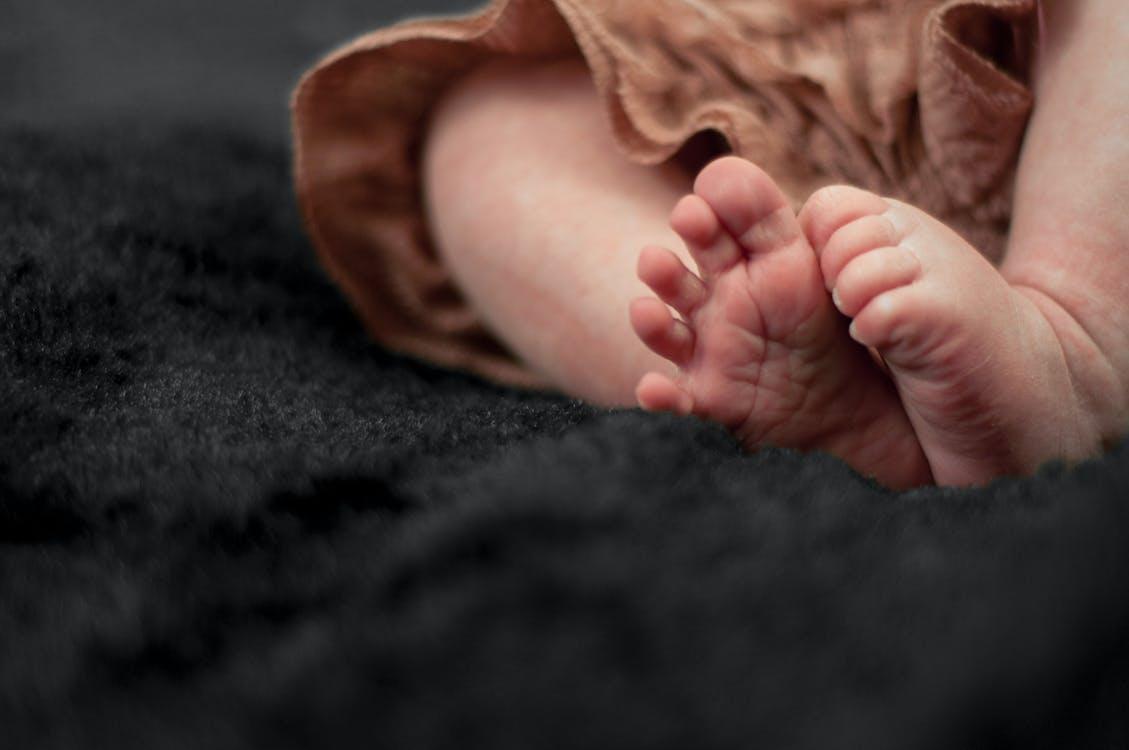 Baby Wearing Brown Pant