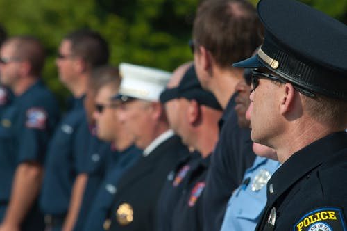Free stock photo of cop, fireman, police