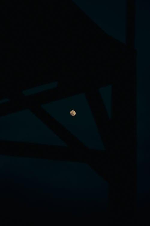 Fotos de stock gratuitas de 24mm, Luna, noche