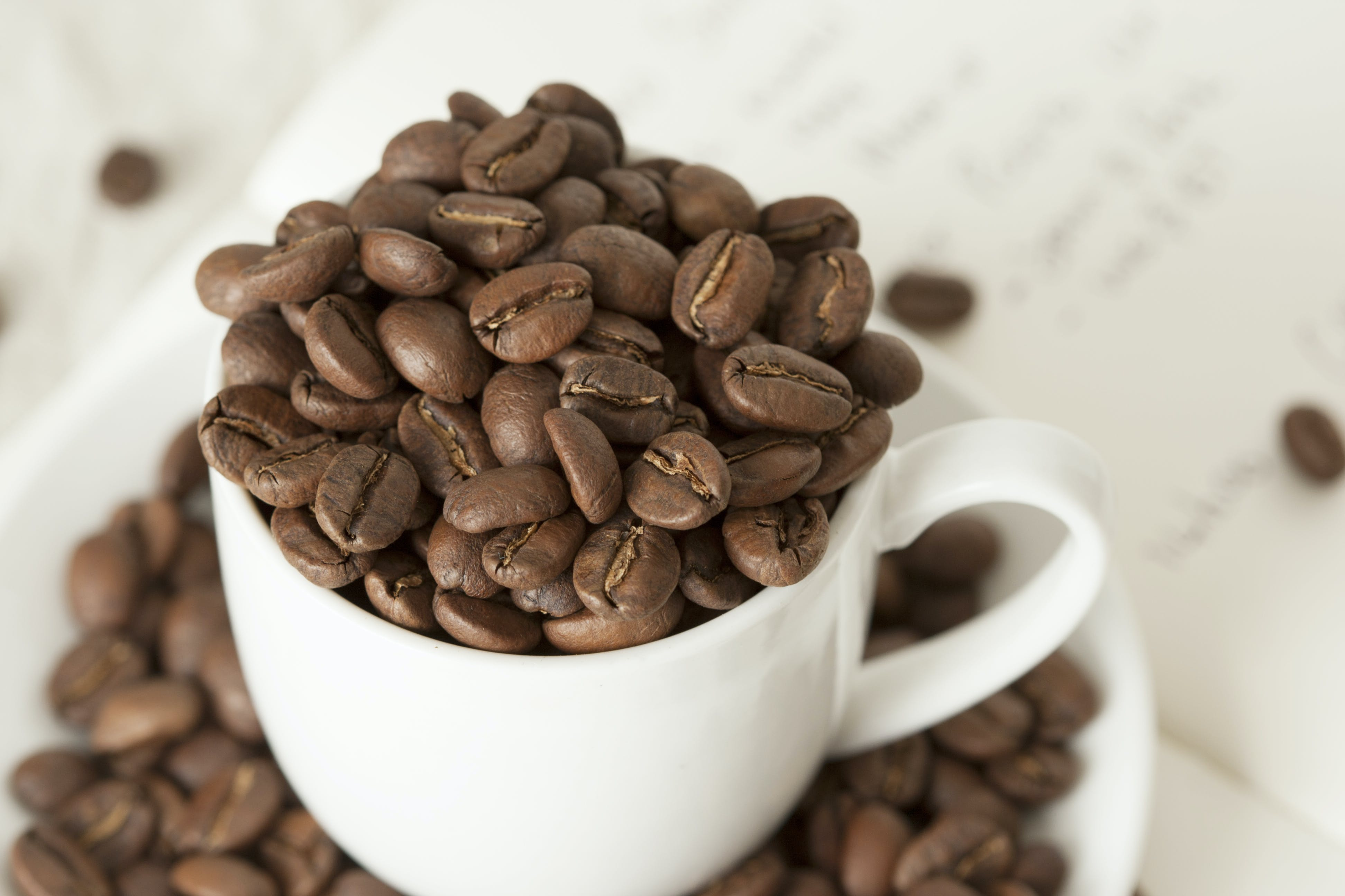 Close-Up Photo of Coffee Beans In Cup