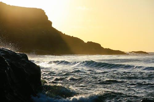 Immagine gratuita di acqua, alba, ambiente, bagnasciuga