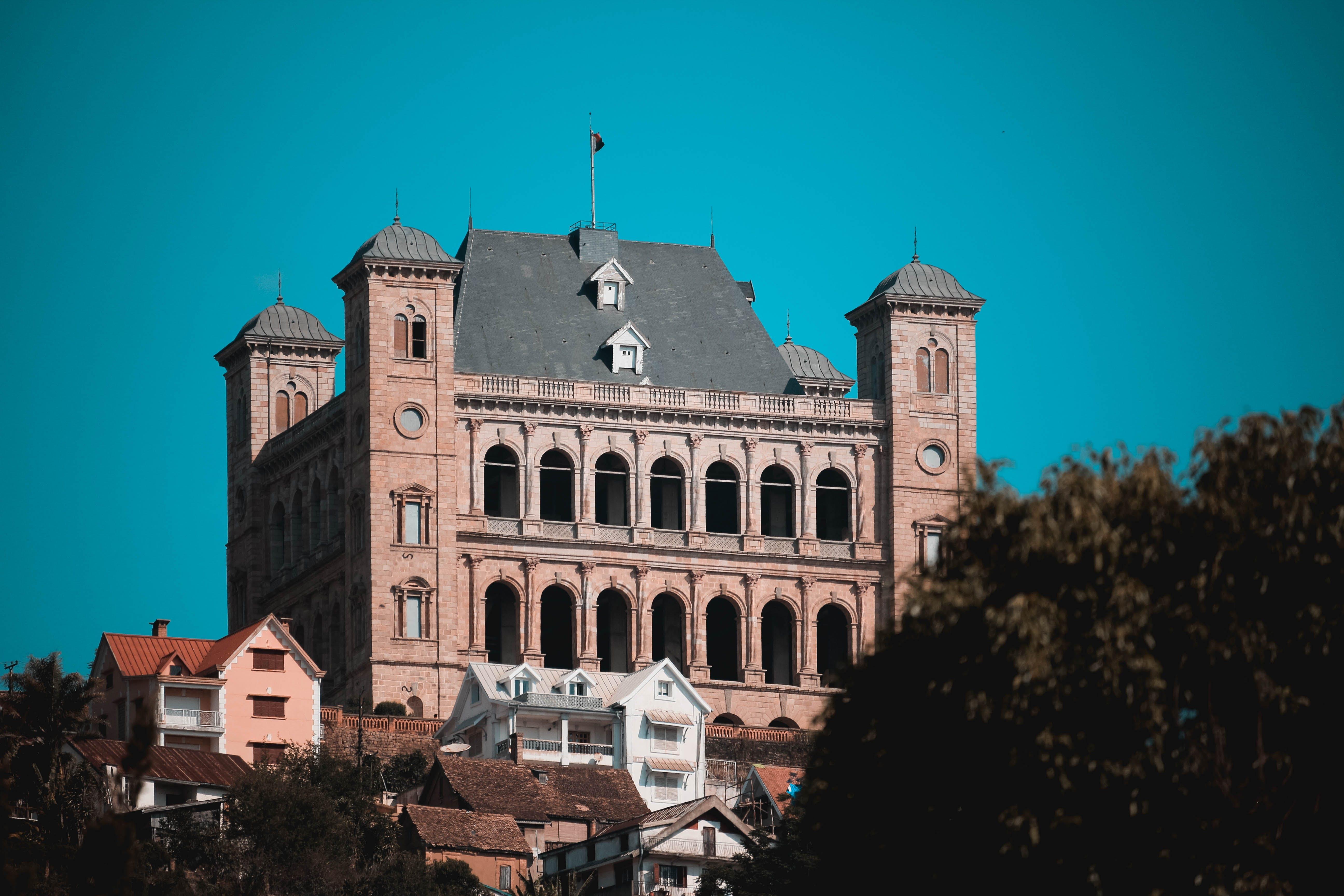Free stock photo of blue sky, castle, Jonas Androx, madagascar