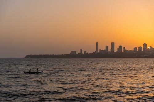 Ảnh lưu trữ miễn phí về bầu trời, biển, bình minh, cảnh quan thành phố