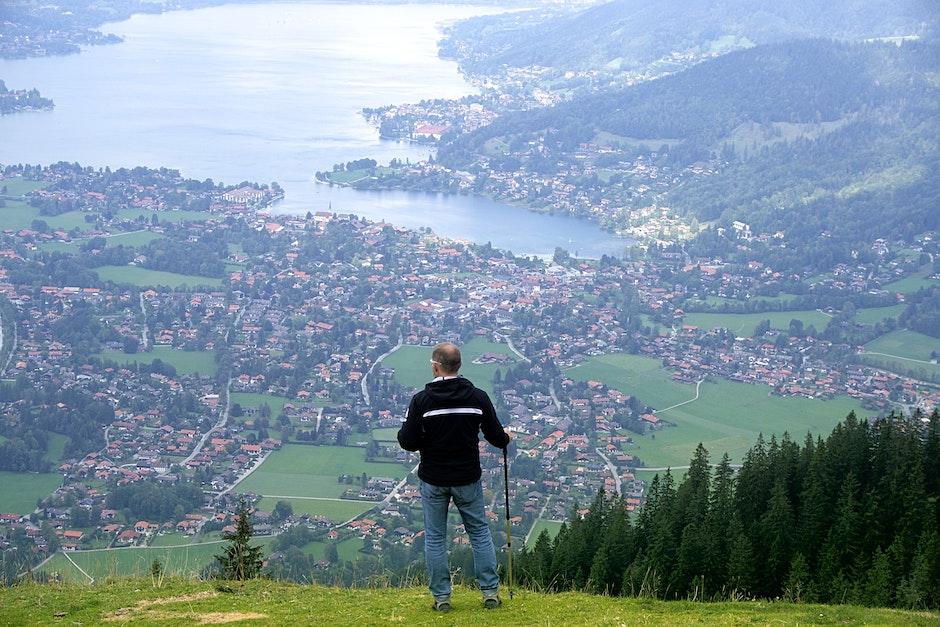 Bavaria, hiker, hiking