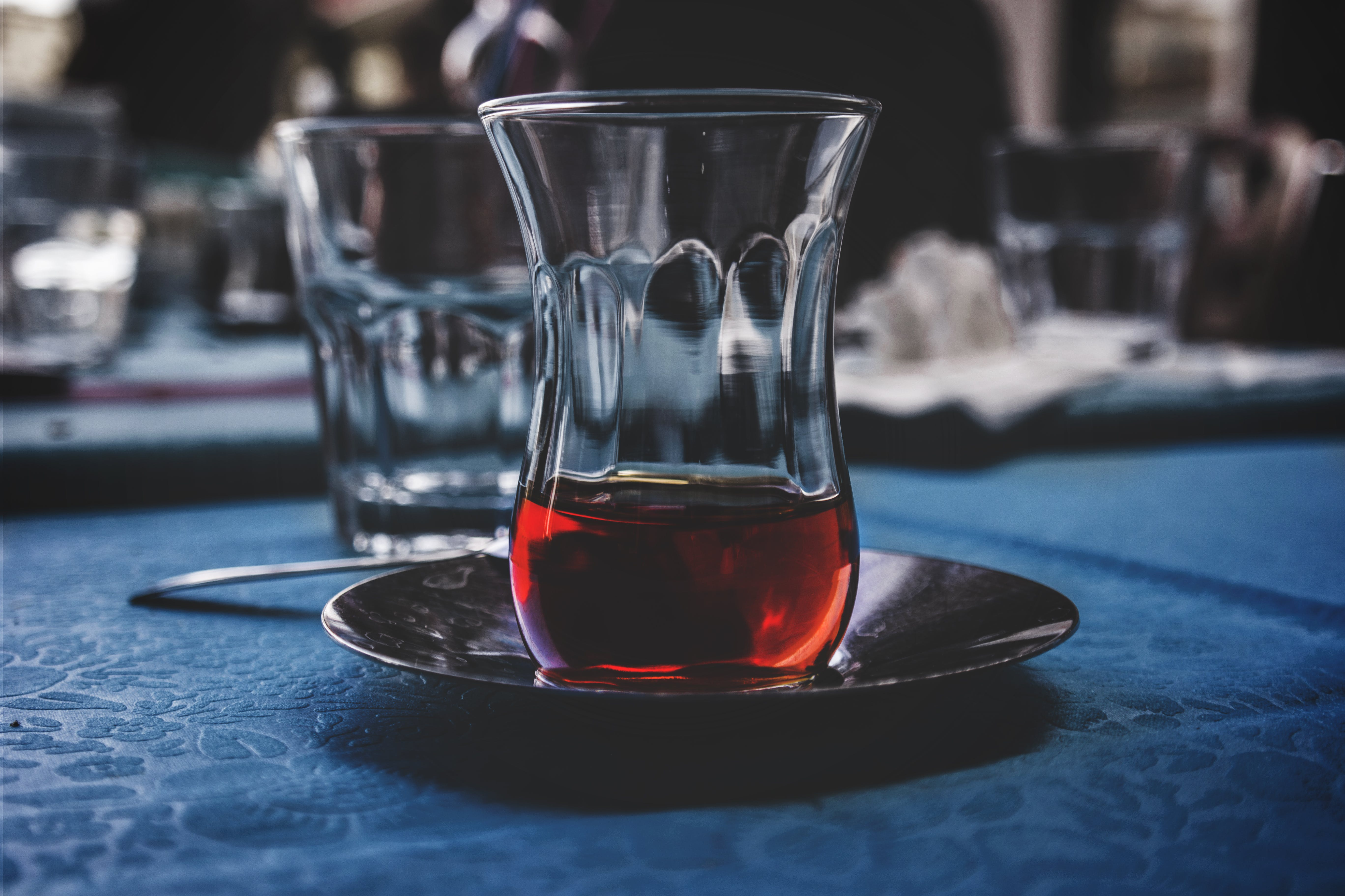 Close Up Photo of Drinking Glass With Beverage