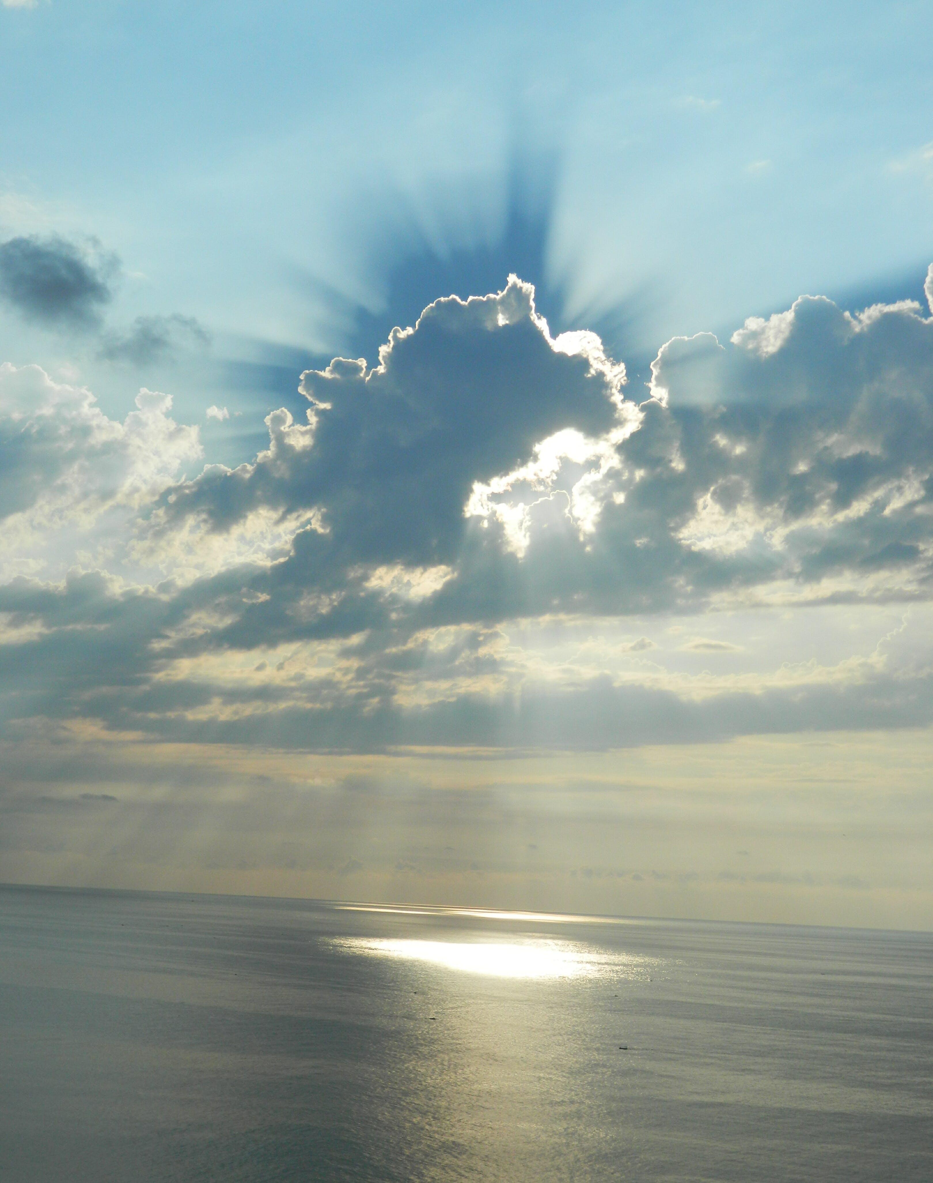 Kostenloses Stock Foto zu licht, meer, himmel, sonnenuntergang