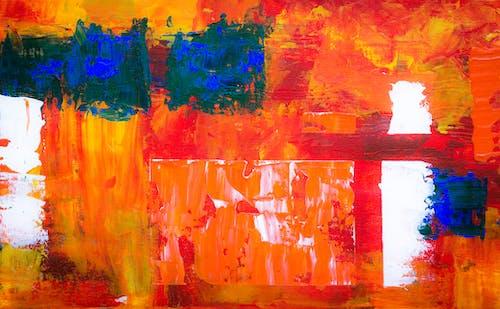 Darmowe zdjęcie z galerii z abstrakcyjny ekspresjonizm, artystyczny, atrament, ekspresjonizm