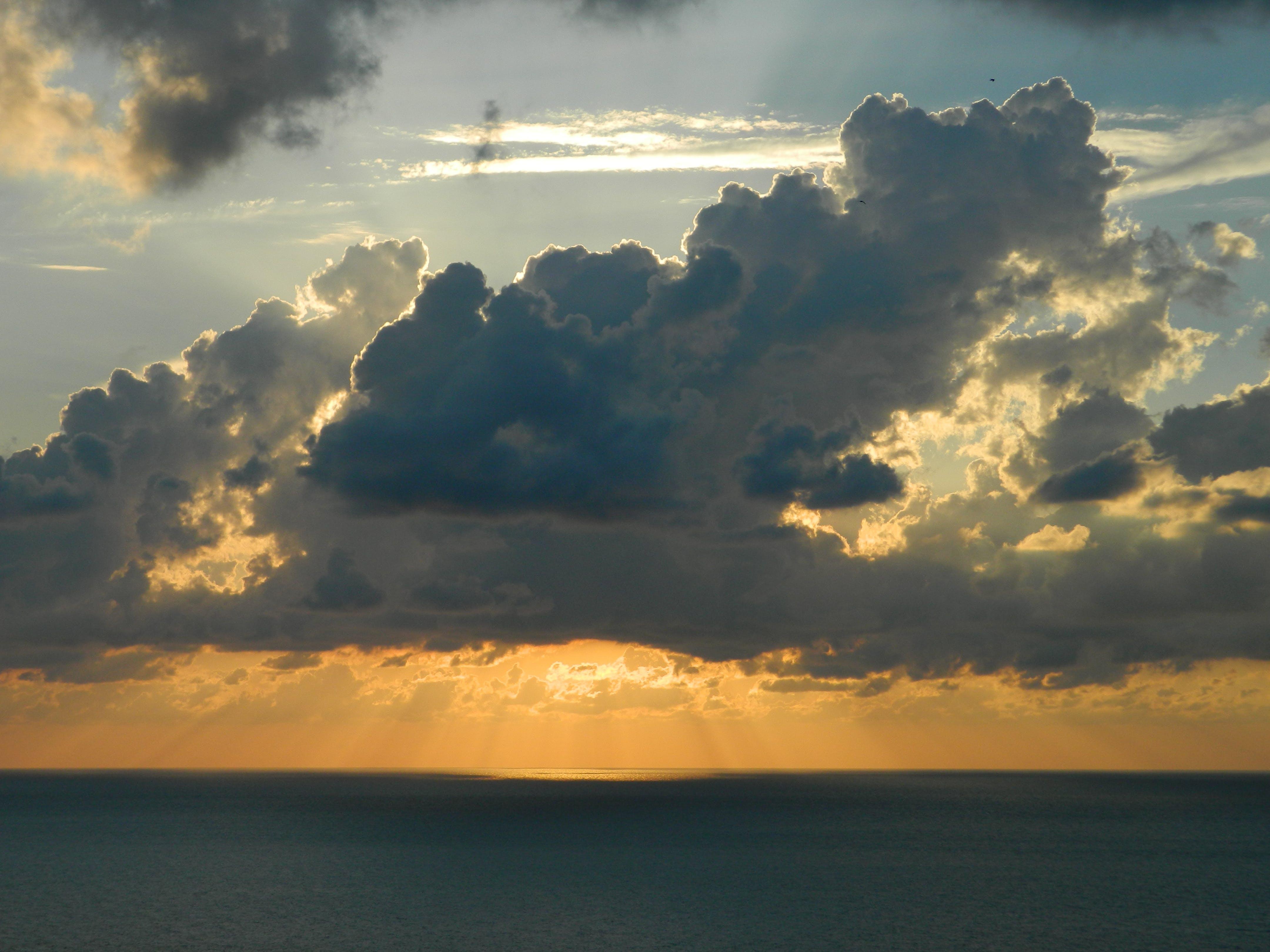 Kostenloses Stock Foto zu dämmerung, himmel, meer, natur