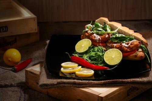 Fotos de stock gratuitas de bollo, carne, comida, comida rápida