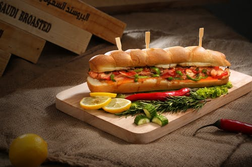 Základová fotografie zdarma na téma chleba, chutný, citron, jídlo