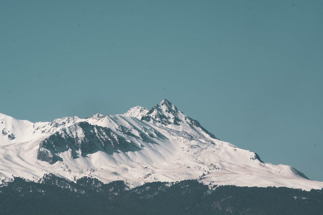 гора, дневной свет, живописный
