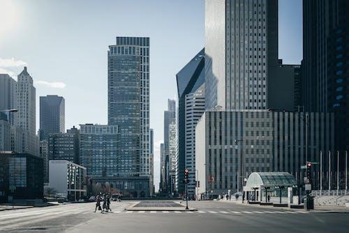 Darmowe zdjęcie z galerii z architektura, budynki, chicago, drapacze chmur