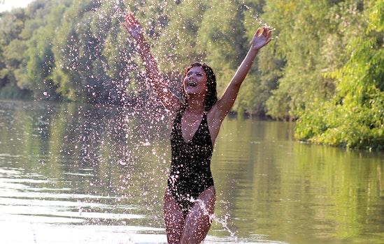 Free stock photo of water, girl, wild, beauty