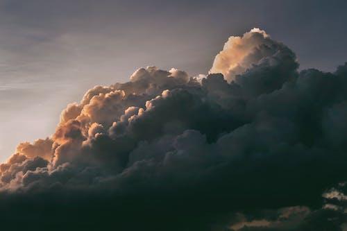 ふくらんでいる, ドラマチック, 夜明け, 天国の無料の写真素材