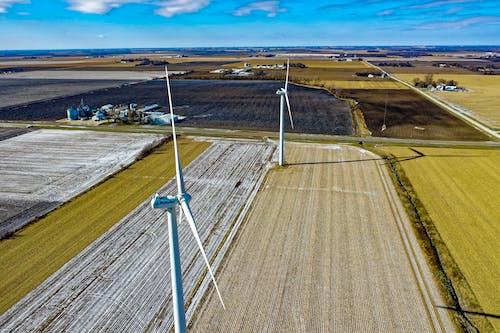 Бесплатное стоковое фото с farrmland, Альтернативная энергия, ветрогенераторы, ветряные мельницы