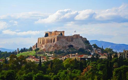 Immagine gratuita di acropoli, antico, atene, grecia