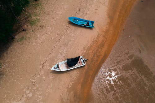 Fotobanka sbezplatnými fotkami na tému člny, denné svetlo, dopravný systém, dron