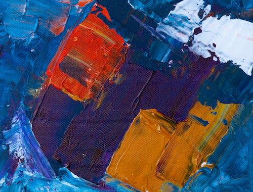 Základová fotografie zdarma na téma abstraktní expresionismus, abstraktní obraz, akryl, akrylová malba