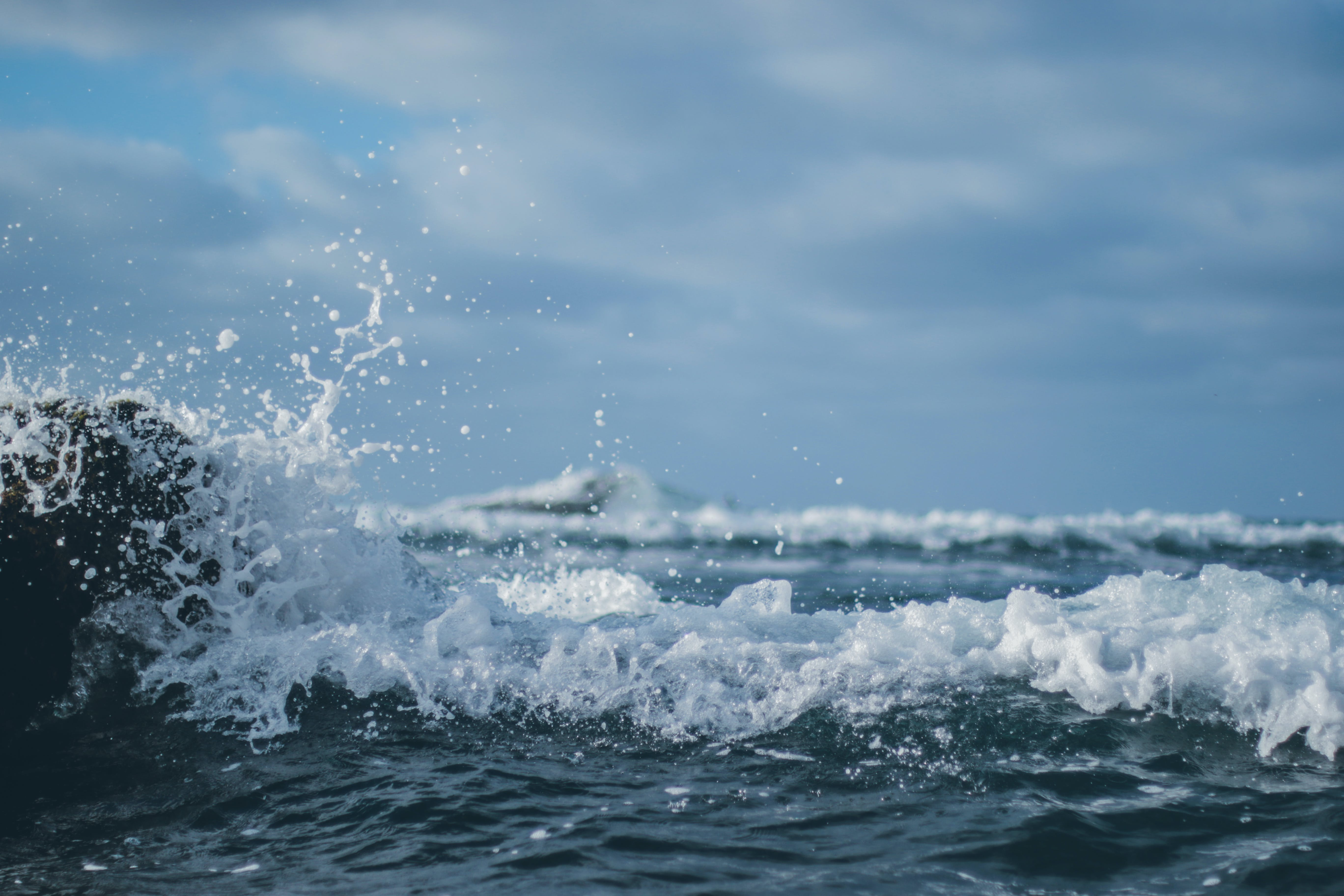 Photography Of Sea Waves