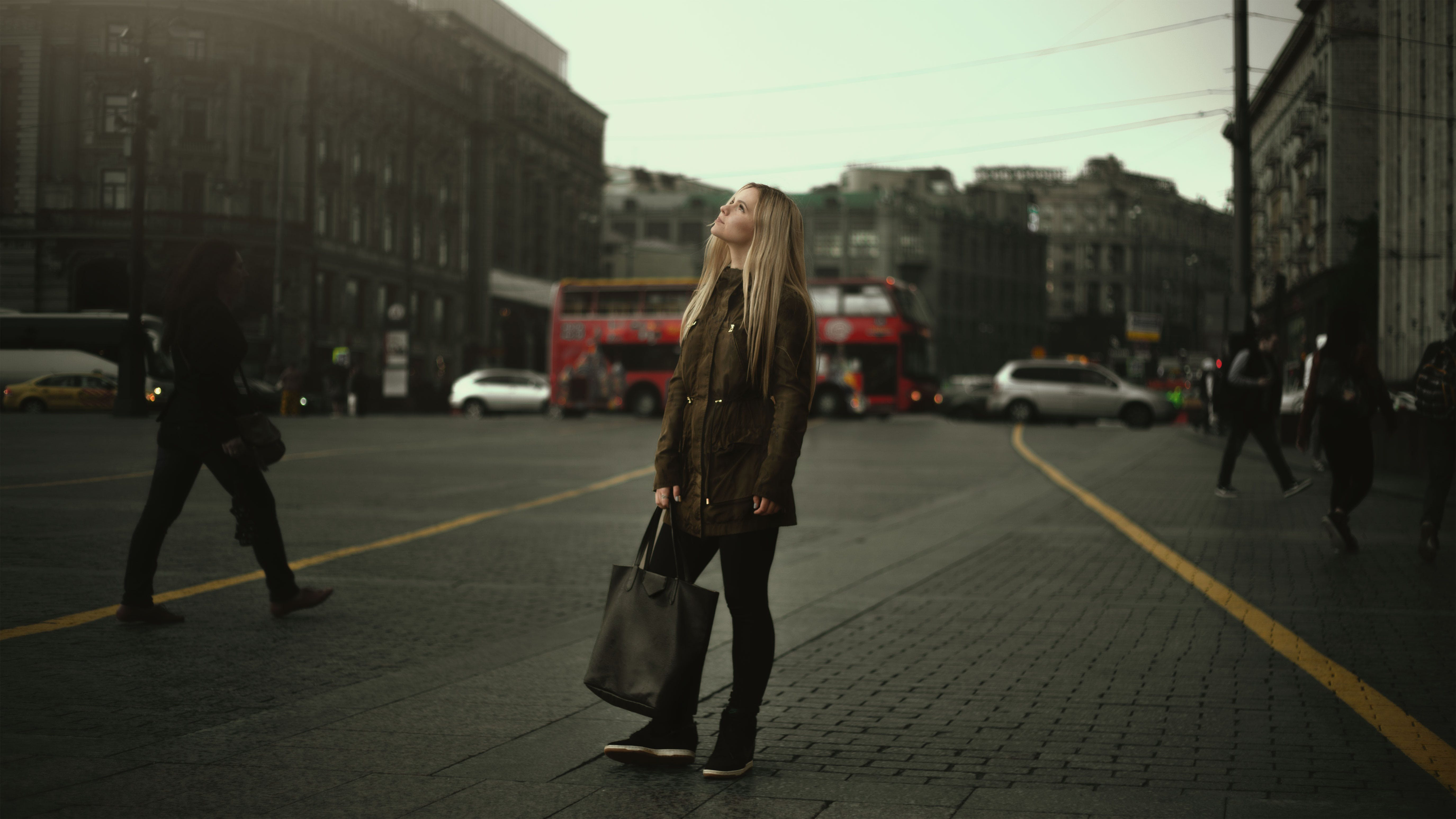 Free stock photo of city, road, fashion, person