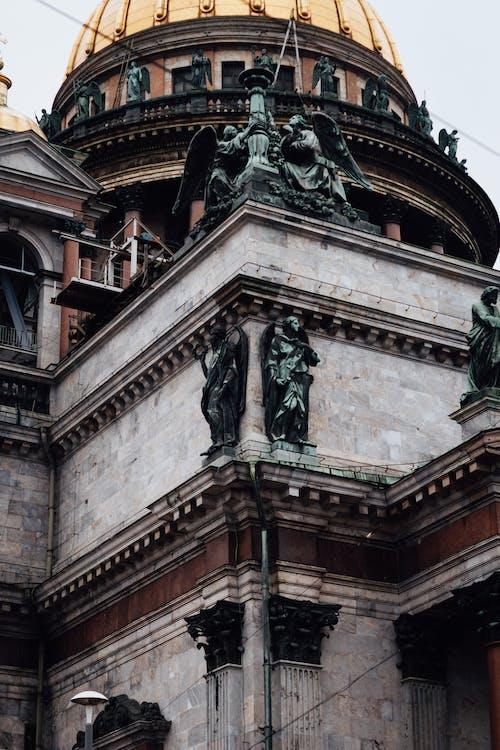 änglar, arkitektur, byggnad