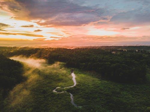 Darmowe zdjęcie z galerii z chmury, malowniczy, natura, rzeka