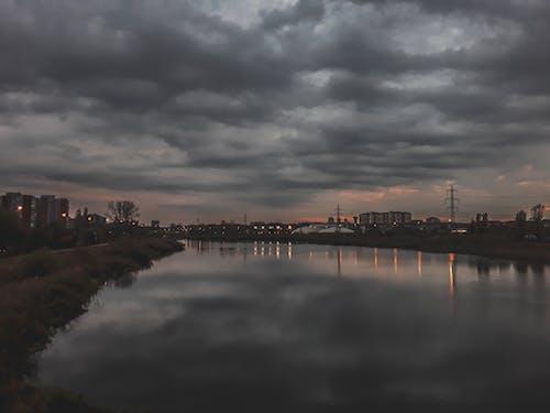 ダーク, 暗雲の無料の写真素材