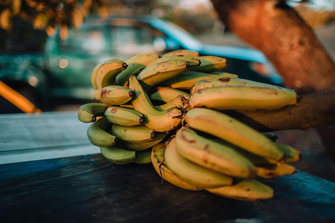 Banana Fruit Close-up Photography
