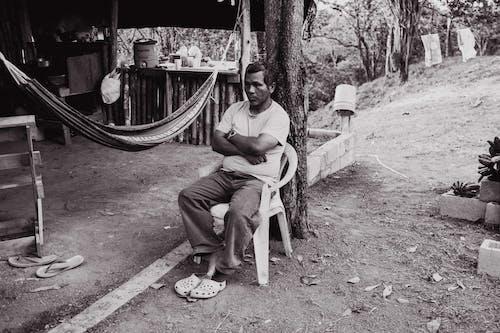 adam, kişi, Panama, siyah ve beyaz içeren Ücretsiz stok fotoğraf