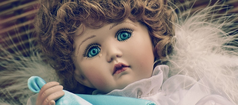 Brown Haired Female Doll