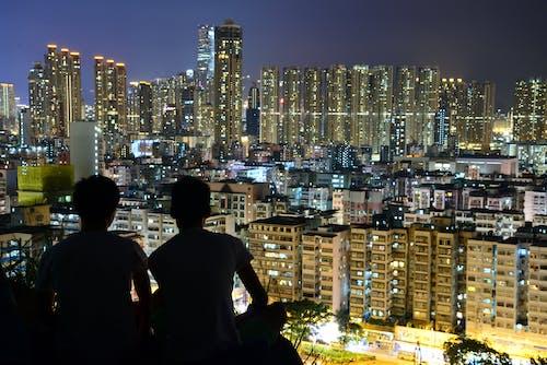 Gratis arkivbilde med by, bybilde, bygninger, natt