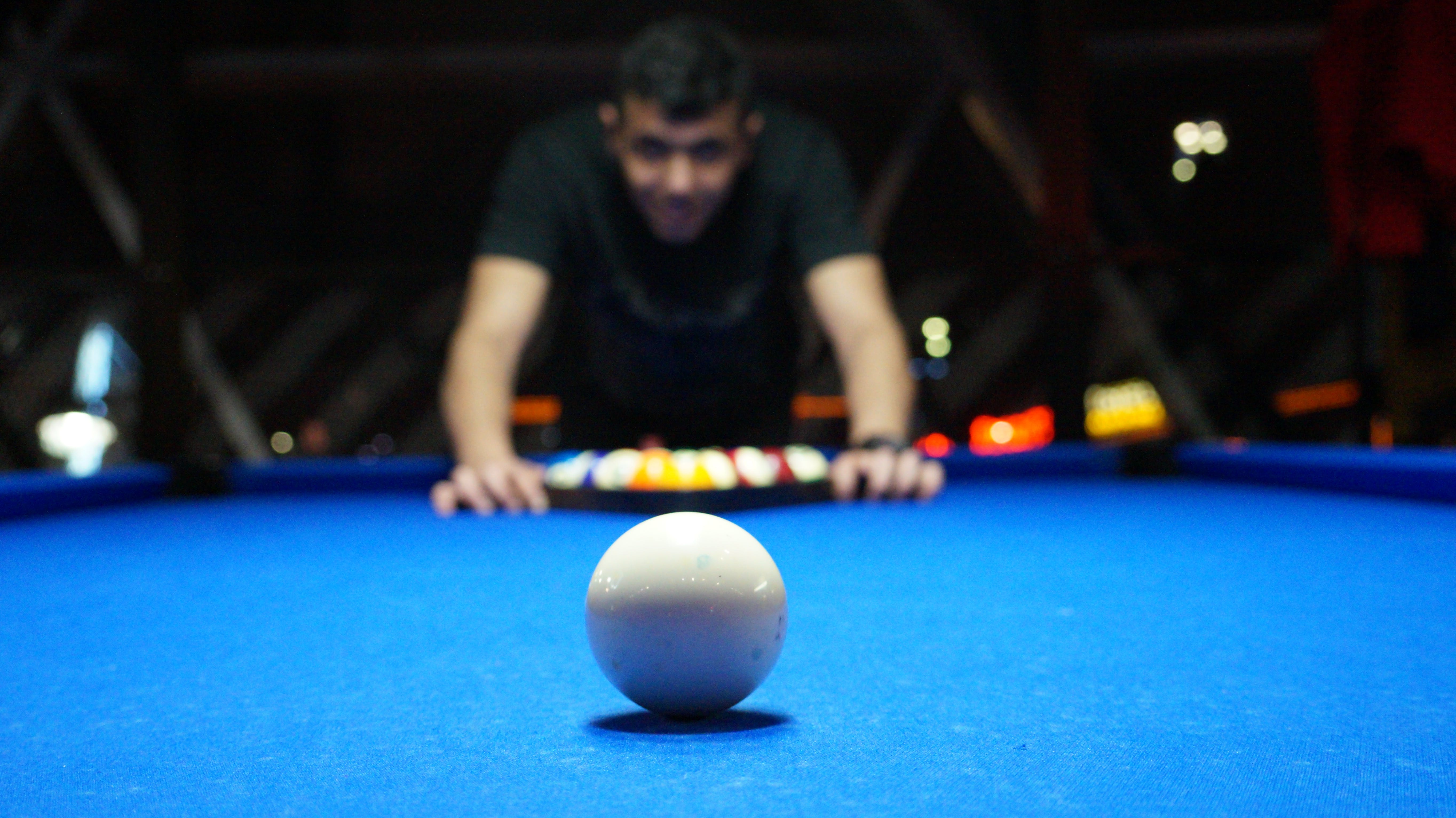 Free stock photo of person, playing, game, pool billiards