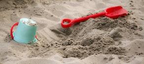 beach, sand, toy