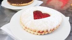 food, plate, heart