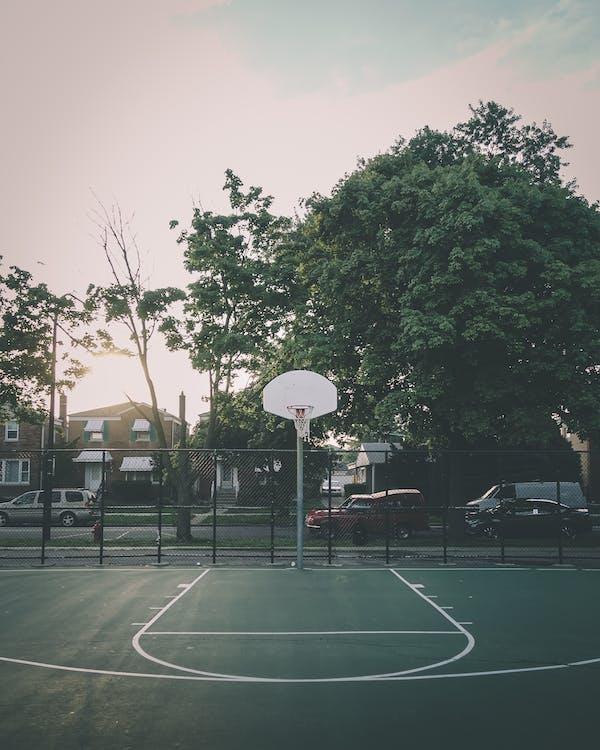 boisko do koszykówki, kort, pierścień do koszykówki
