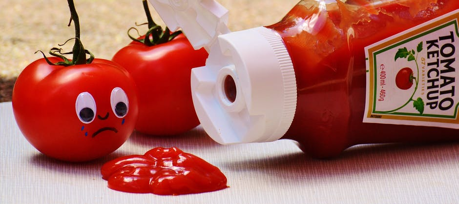 Tomato Crying on Tomato Ketchup