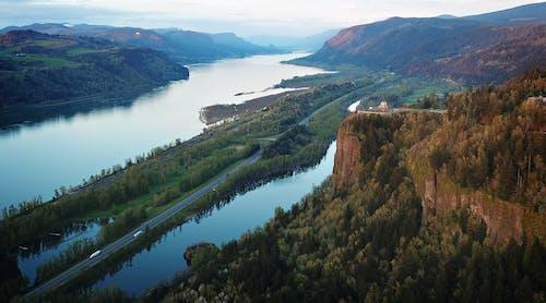 Kostnadsfri bild av berg, dagsljus, dal, drönarbilder