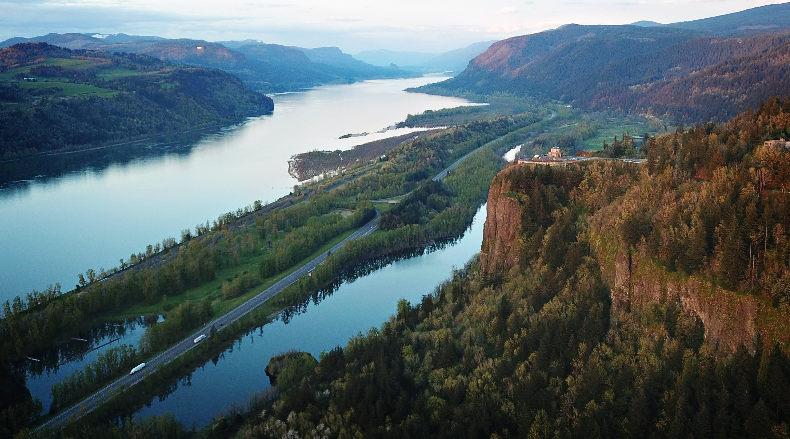Aerial View of River · Free Stock Photo