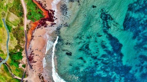 Základová fotografie zdarma na téma barva, fotka zvysokého úhlu, fotografie zdronu, letecký snímek