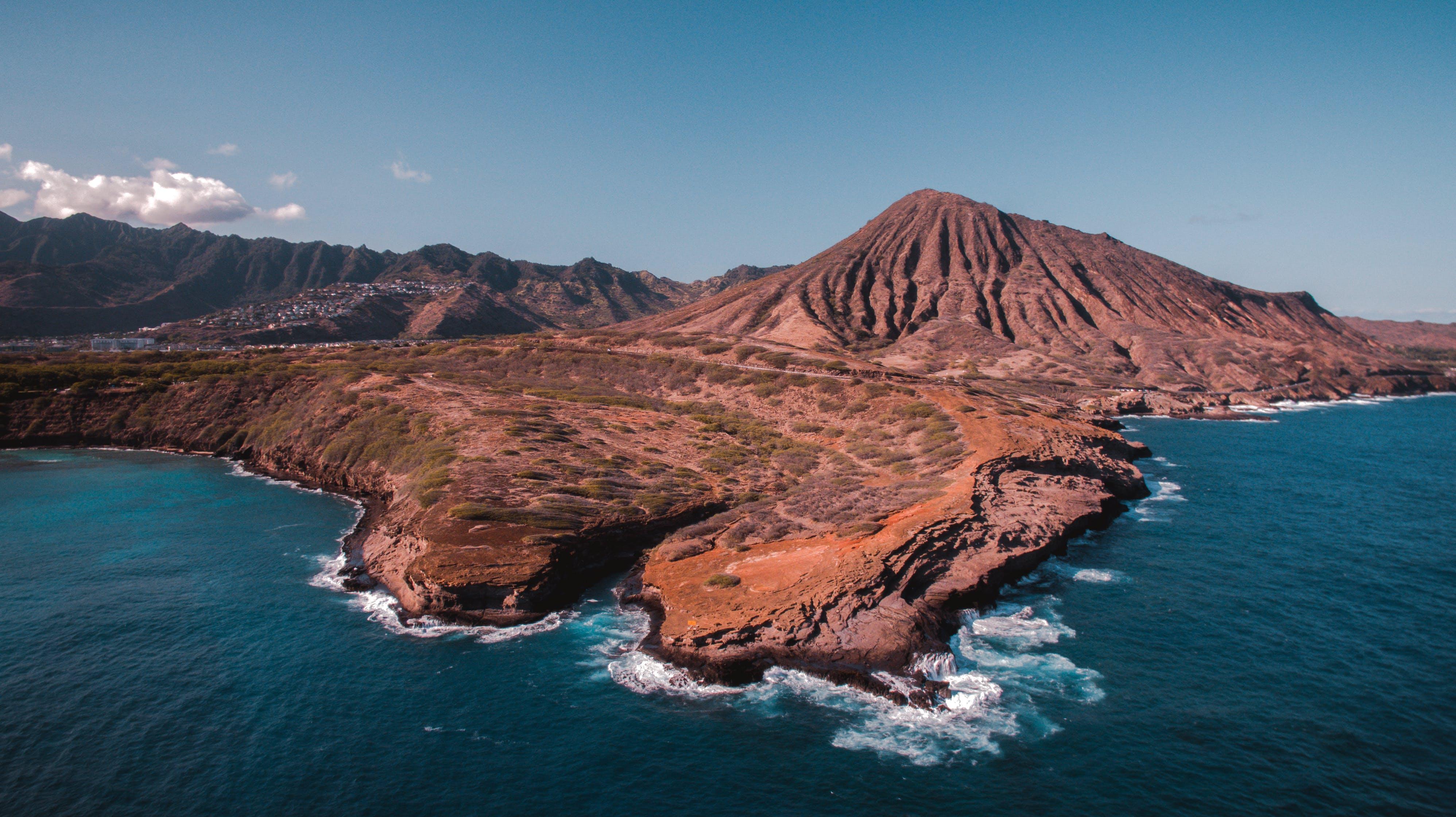 Fotos de stock gratuitas de costa, desde arriba, escénico, foto aérea