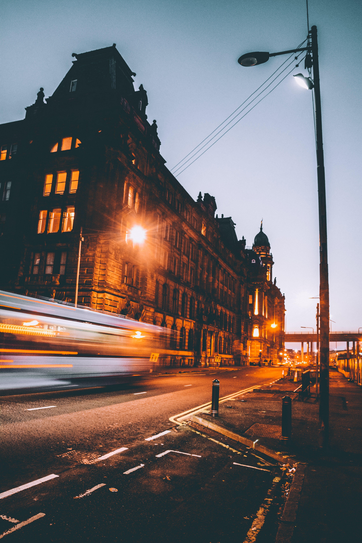 Free stock photo of architectural design, architecture, blur, bridge